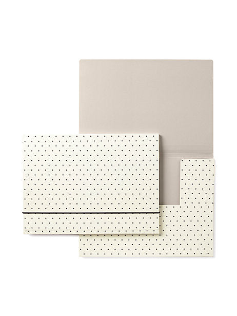 bikini dot folio set kate spade new york (set of 2)