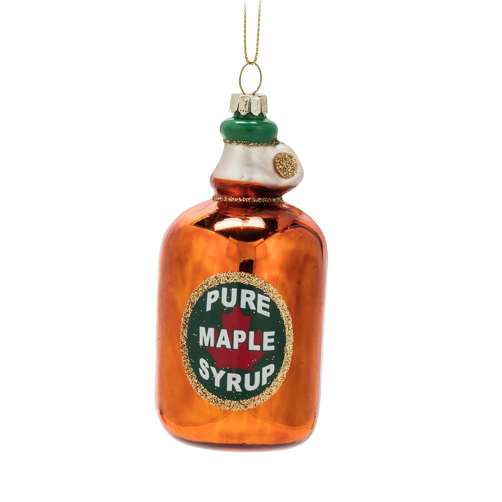 syrup bottle ornament