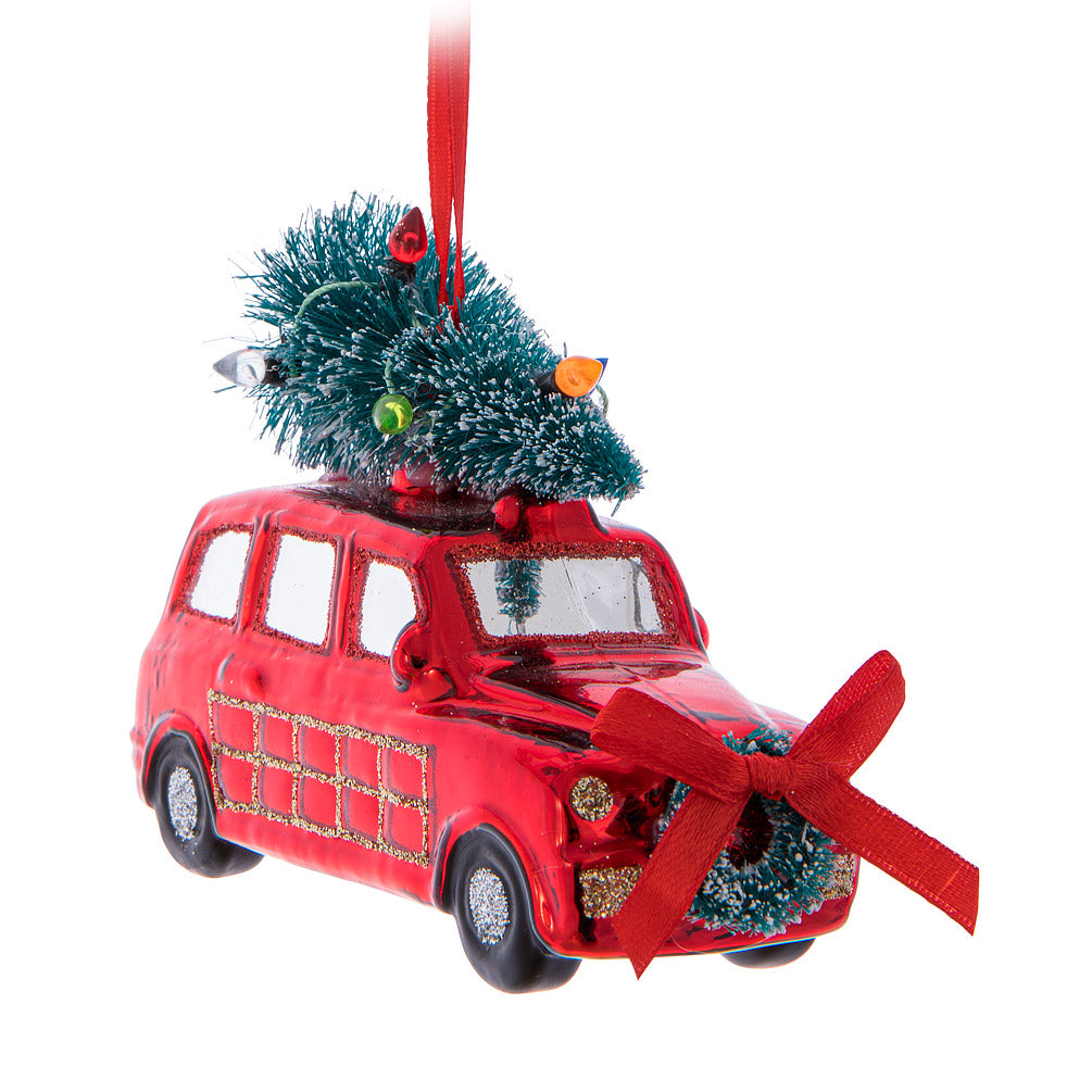 station wagon ornament