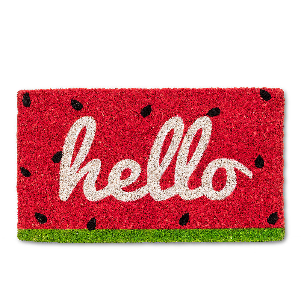 fun graphic doormats