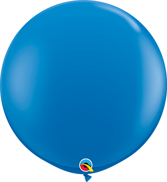 "36"" jumbo latex balloons (set of 2) **premium qualatex"
