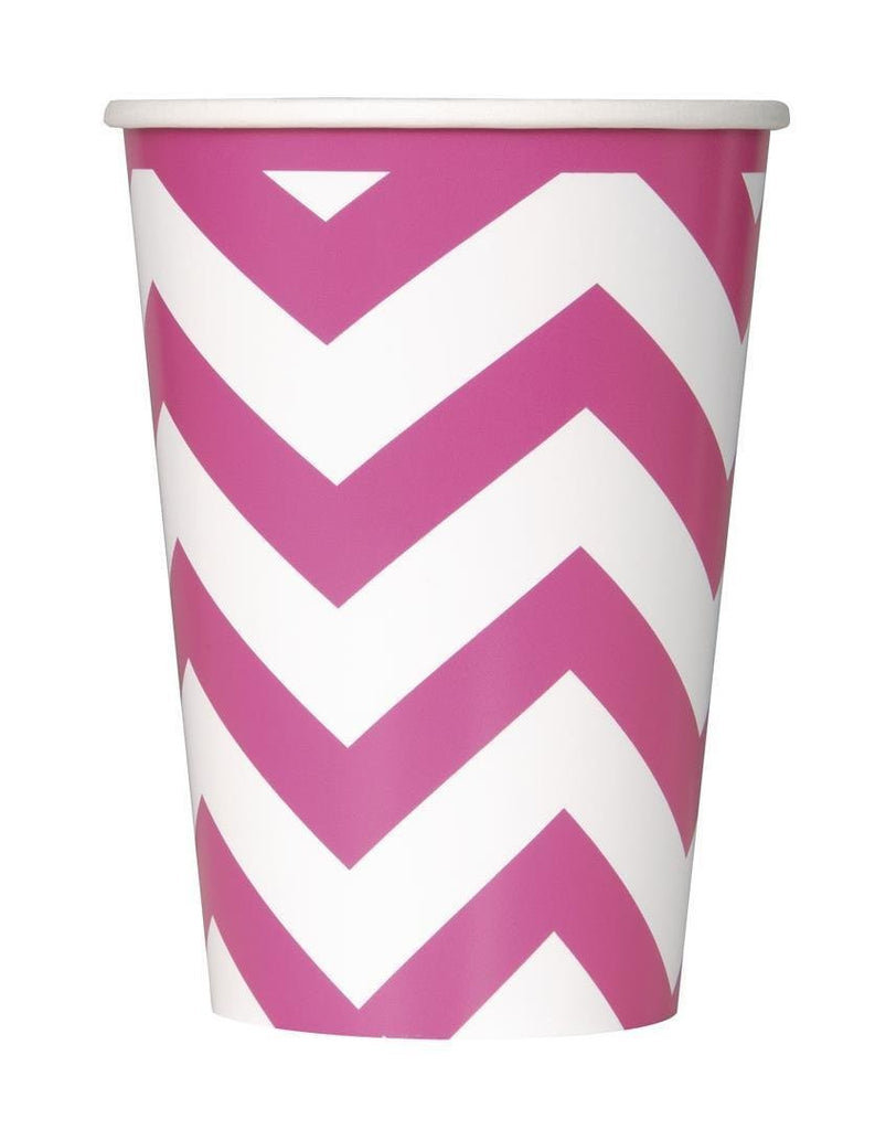 chevron paper cups