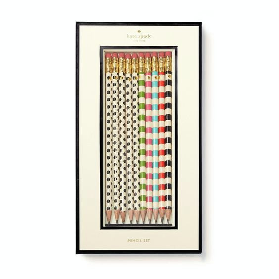 york pencil set kate spade new york