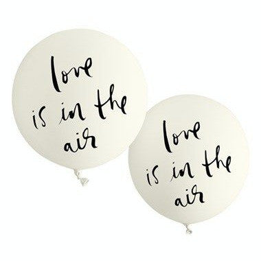 love is in the air bridal balloons - kate spade new york