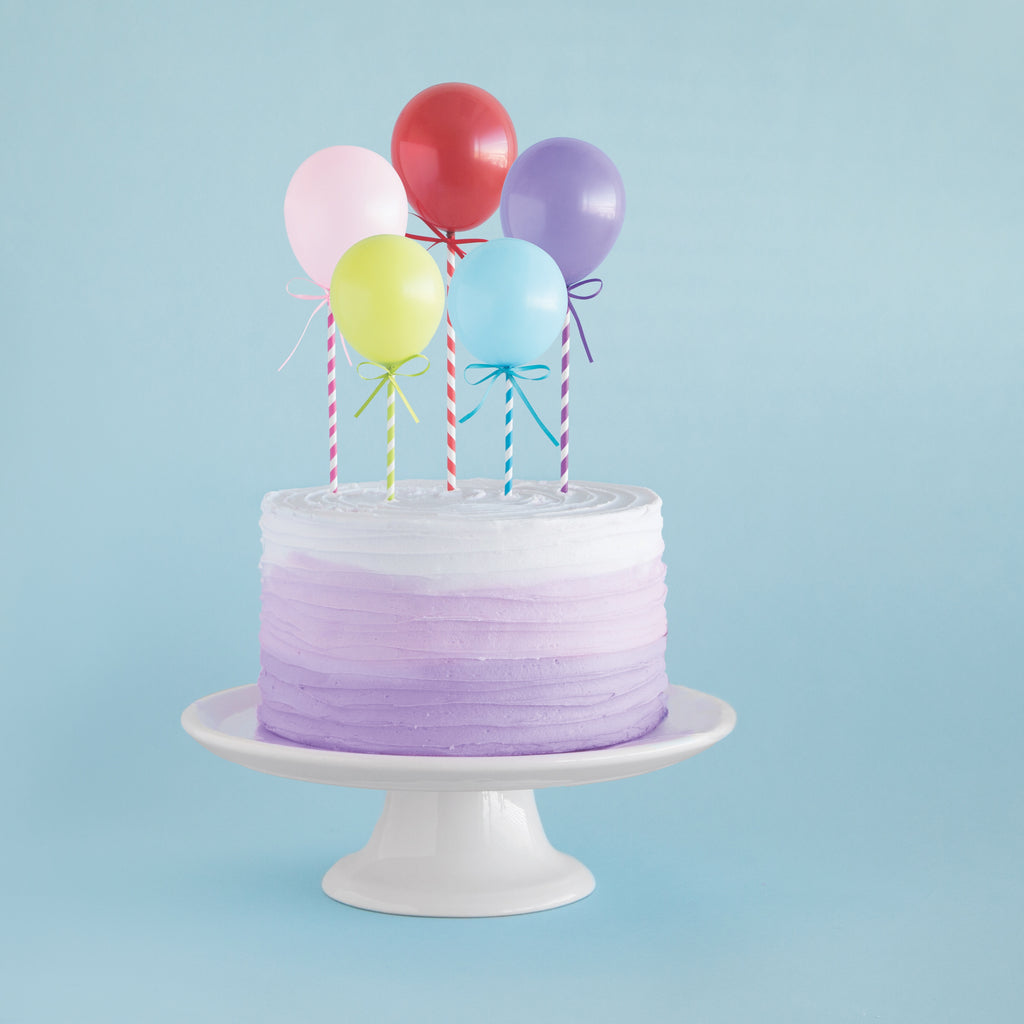 balloon cake topper