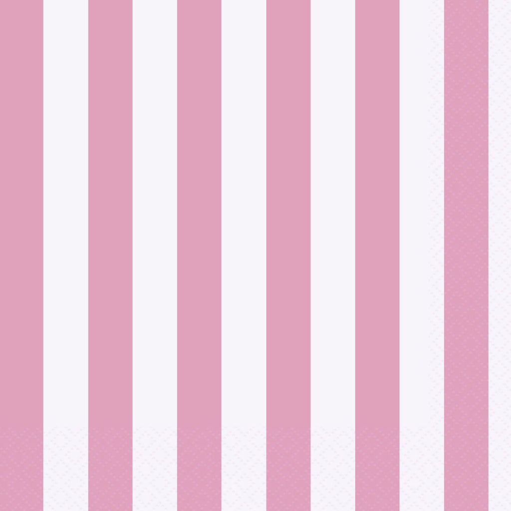 striped dinner napkins