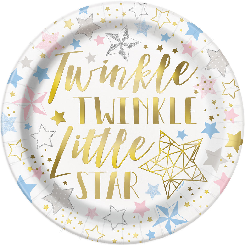 twinkle twinkle little star dinnerware