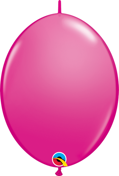 "12"" quick link latex balloons (set of 10) **premium qualatex"
