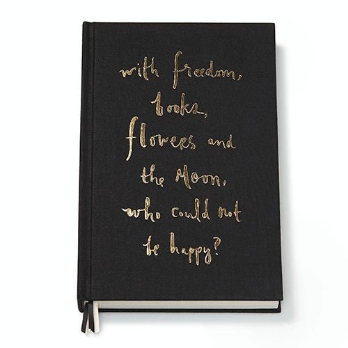 """who could not be happy?"" journal kate spade new york"