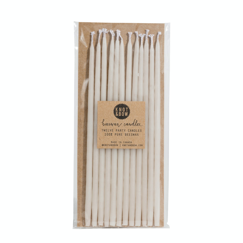 hand dipped tall beeswax candles ivory