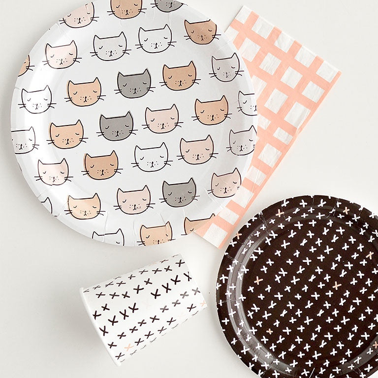 kitten dinnerware