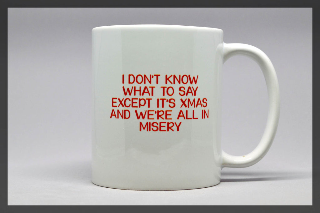 xmas vacation misery mug