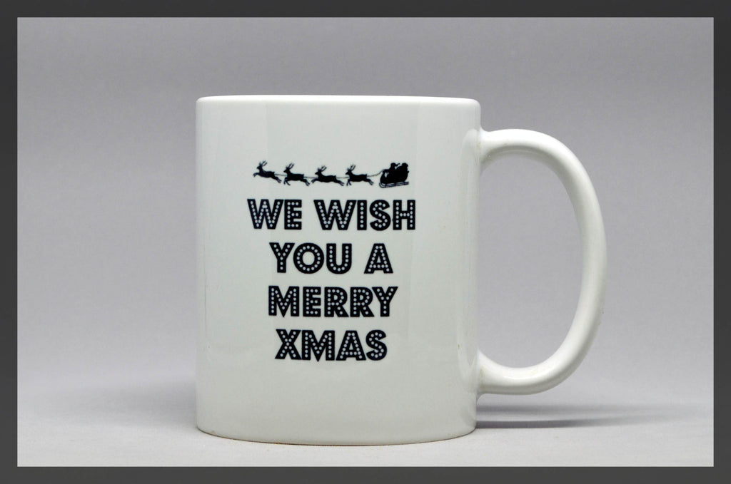we wish you a merry xmas mug