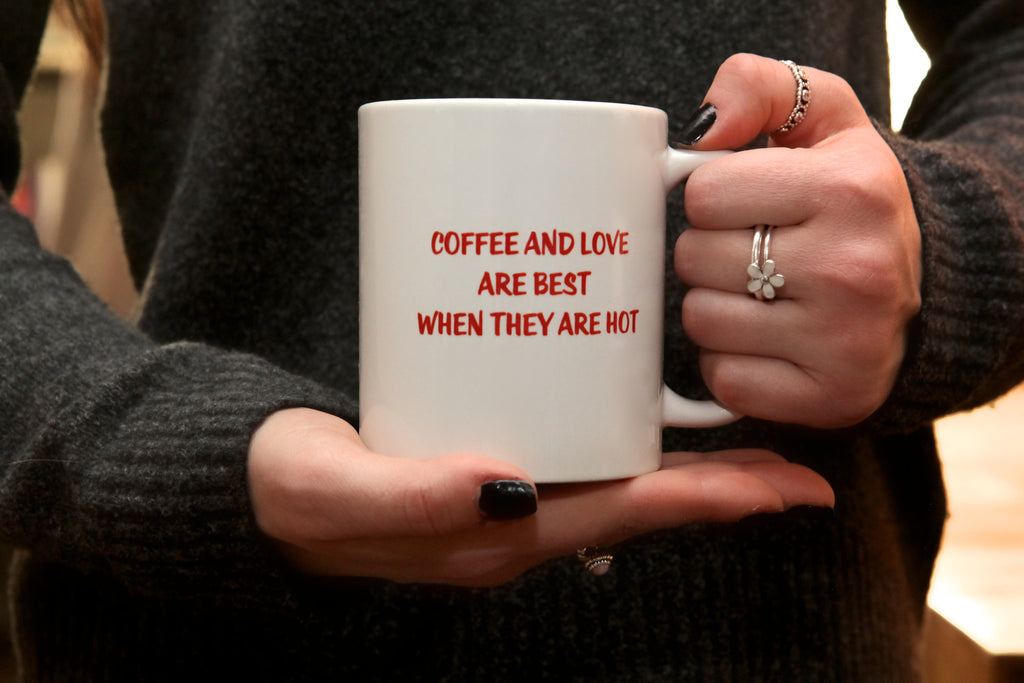 coffee and love mug
