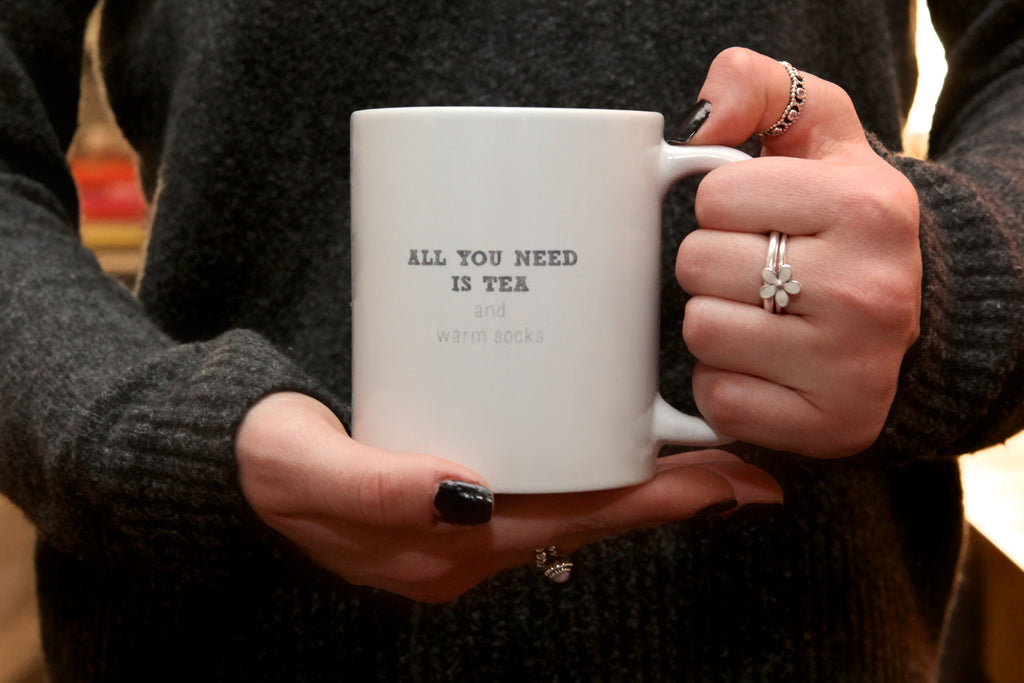 all you need is tea mug