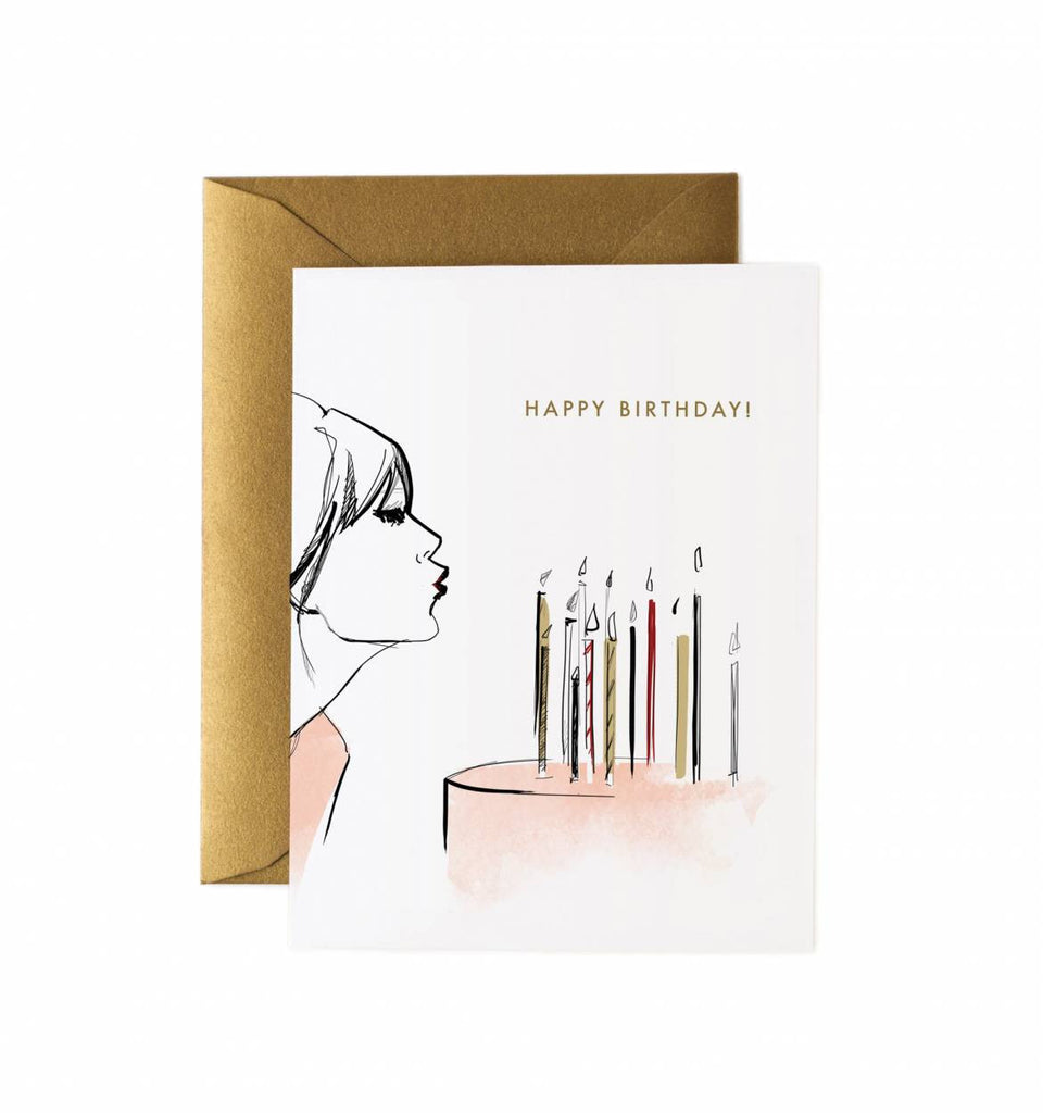 happy birthday wish greeting card