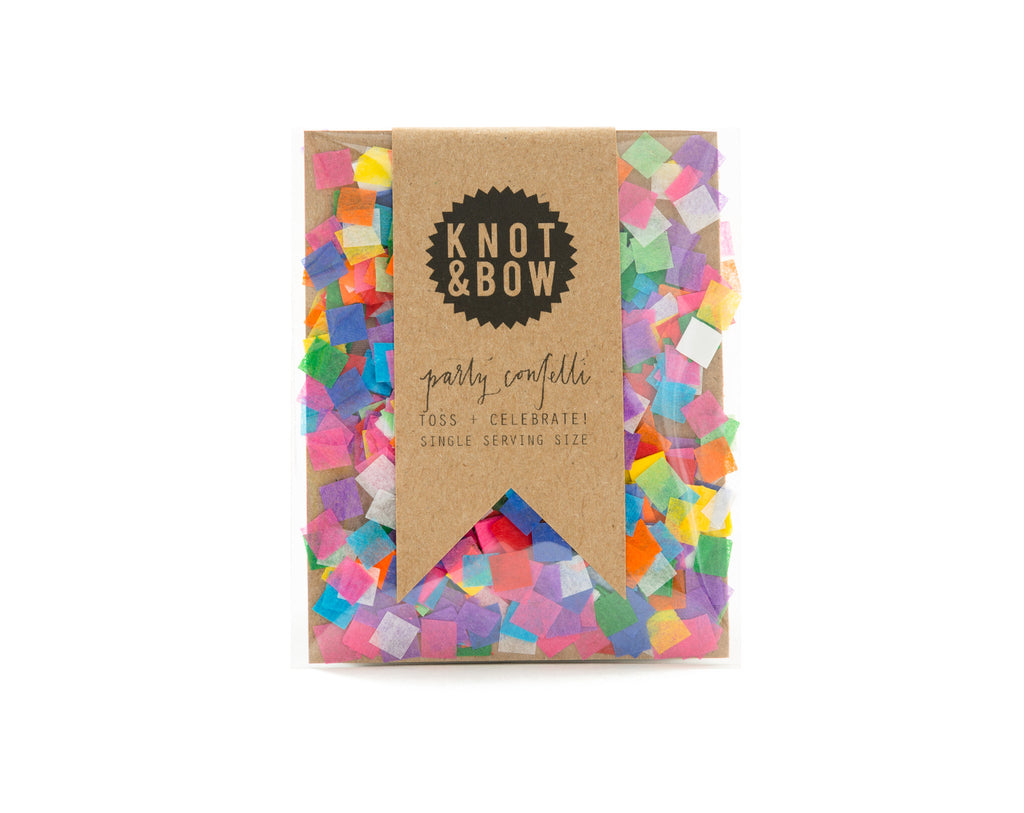 party mix confetti rainbow