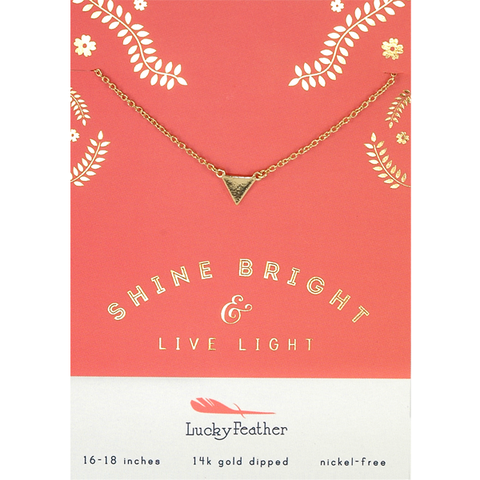 shine bright & live on necklaces