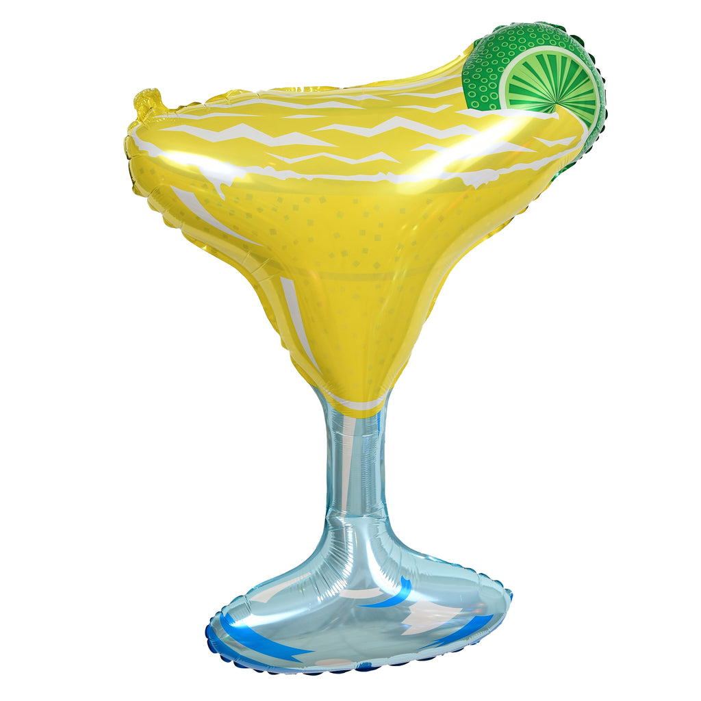"36"" margarita glass balloon"