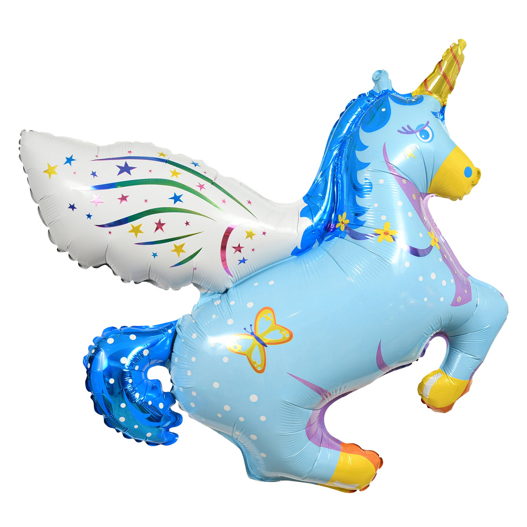 "43"" magical unicorn balloon"
