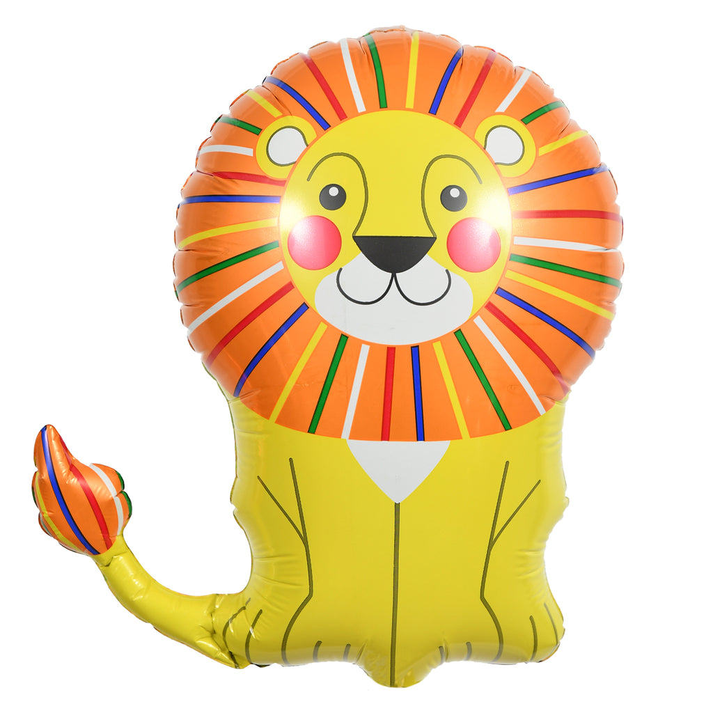 "14"" lion balloon"
