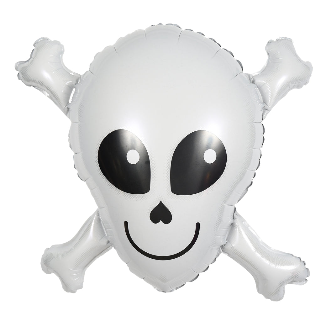 "32"" halloween skull balloon"