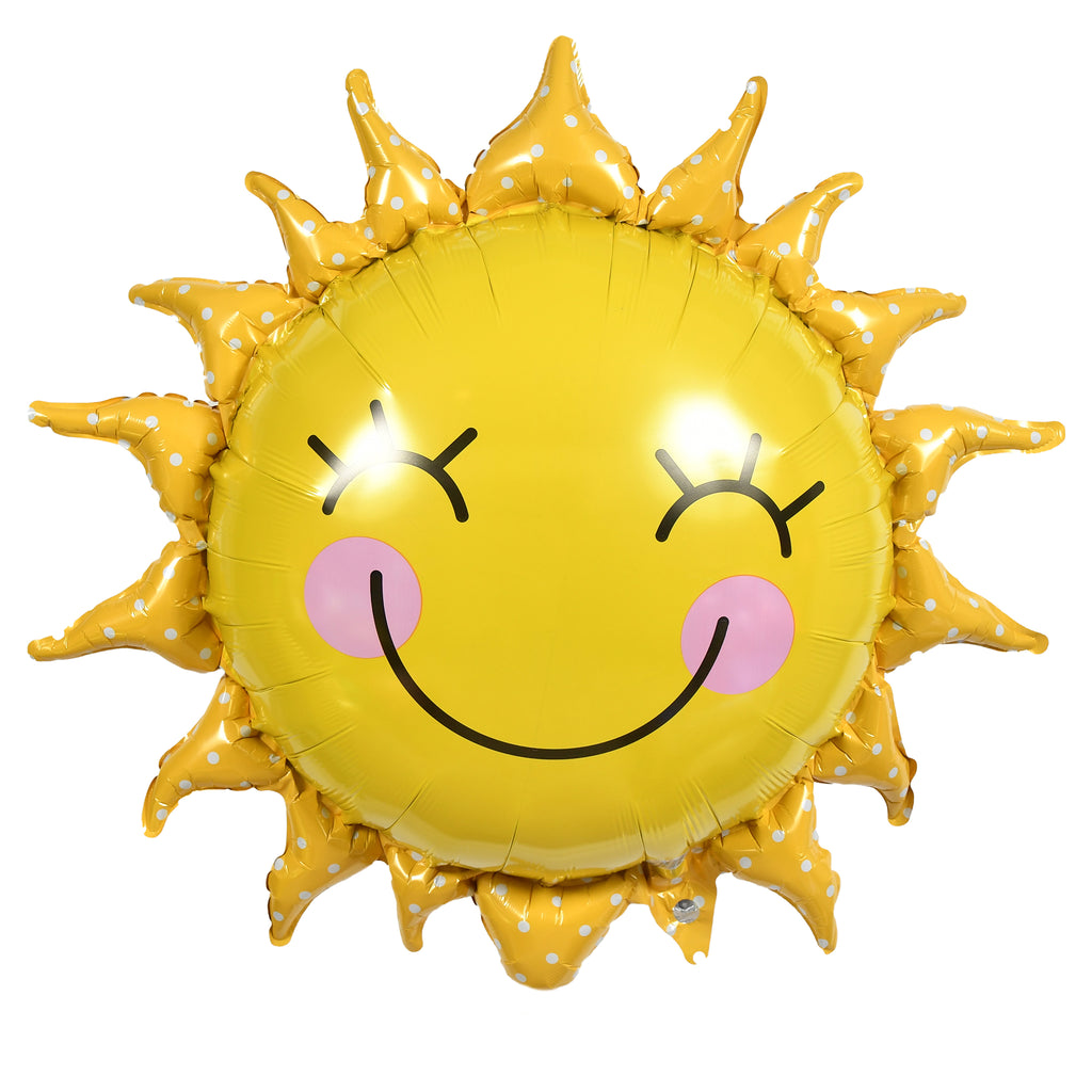 "29"" smiling sun balloon"