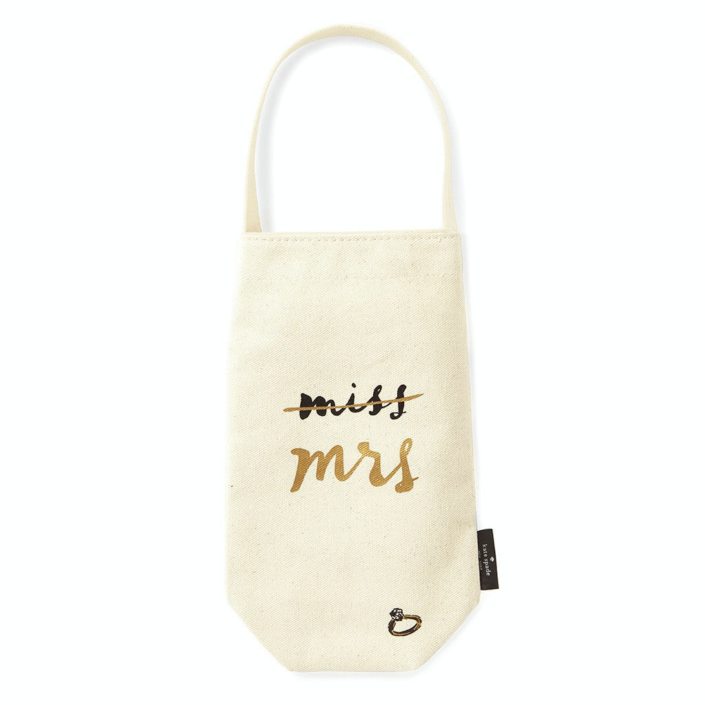 miss. to mrs. wine tote kate spade new york