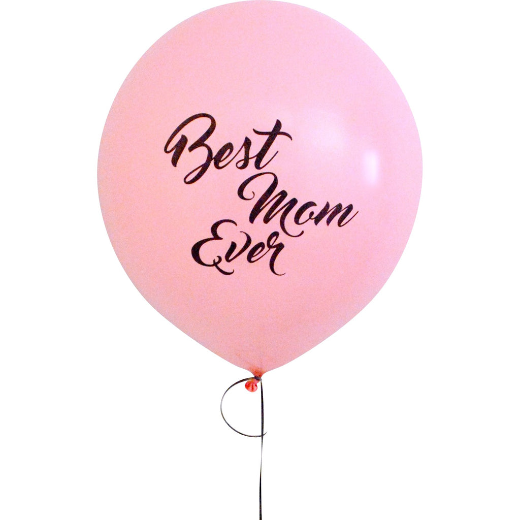 """best mom ever"" balloon (set of 2) **exclusive"