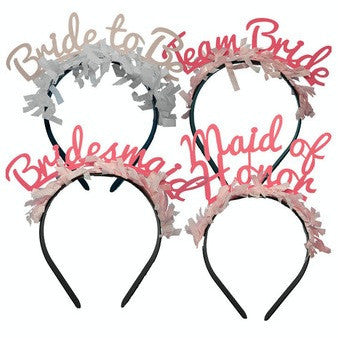 party up top headbands bridal pack