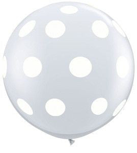"36"" jumbo polka dot latex balloons (set of 2)"