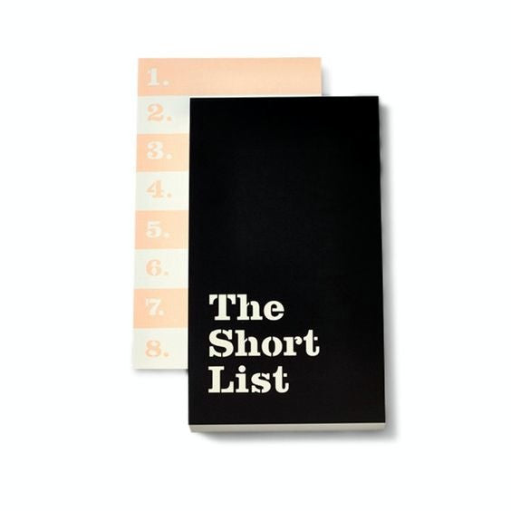 the short list notepad kate spade new york