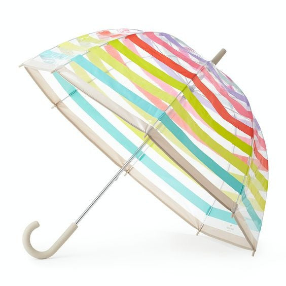 multi stripe umbrella kate spade new york