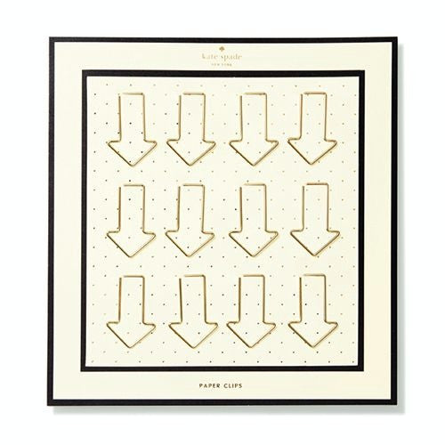 arrow paper clips kate spade new york