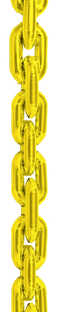 "34"" deco chain link balloons"