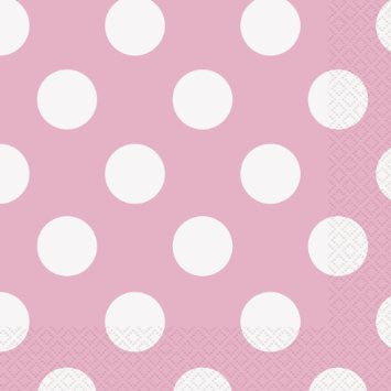 polka dot cocktail napkins