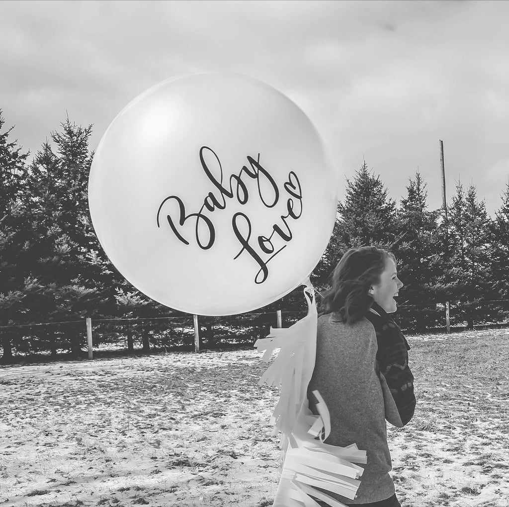 baby love balloon