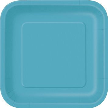 solid square appetizer plates
