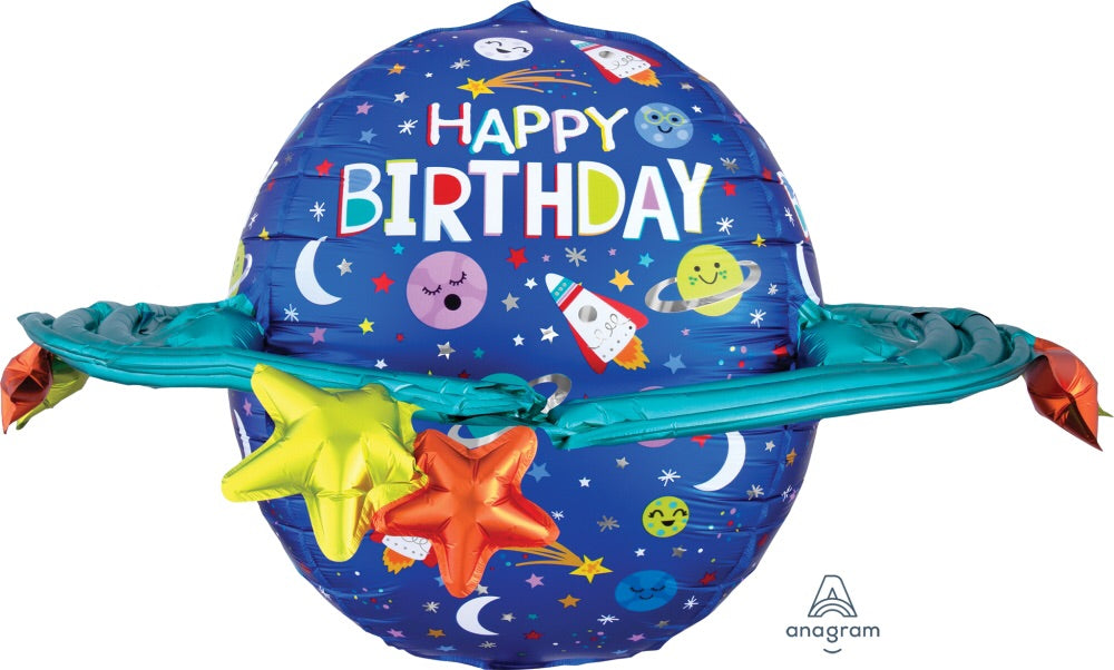 "29"" galaxy ""happy Birthday"" balloon"