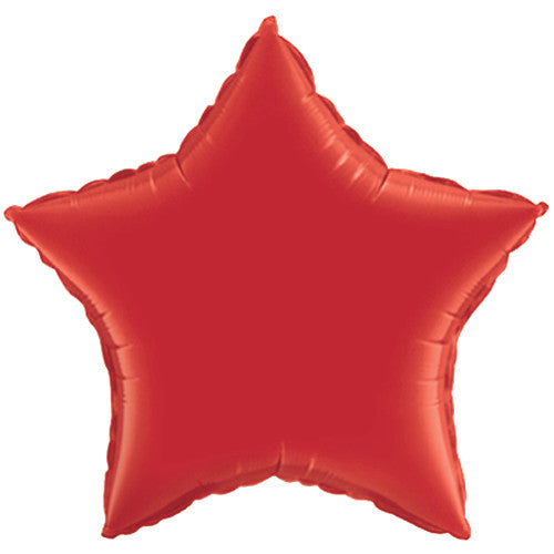 "18"" star mylar balloons (set of 5)"