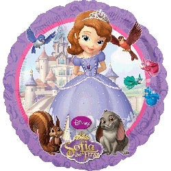 "18"" princess sofia balloon"