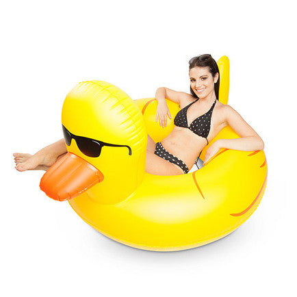 rubber duckie pool float