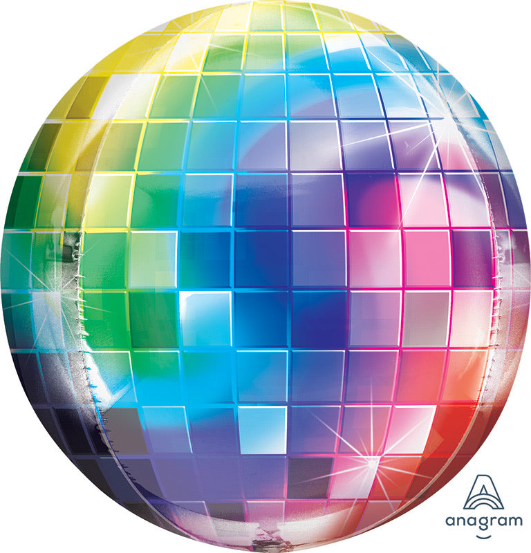 "32"" disco ball balloon"