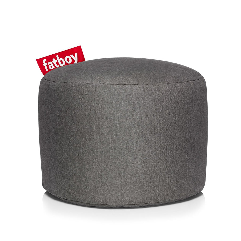 point stonewashed pouf