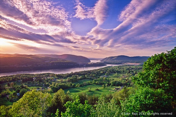 Hudson River Sunset, Hudson Highlands, Garrison, New York