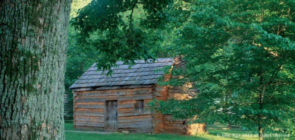 Kentucky. Abraham Lincoln's boyhood home 1811-1816, at Knob Creek in Hodgenville