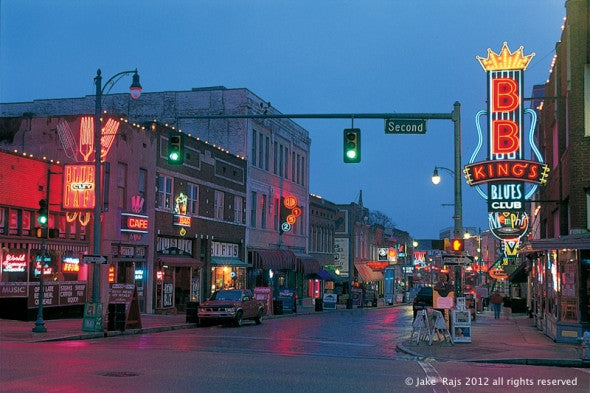 Beale Street is a street in Downtown Memphis, Tennesse