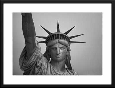 Statue of Liberty, Aerial 1