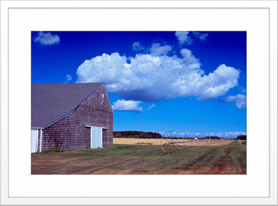 Farm with Clouds