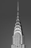 Chrysler Building, Black and White